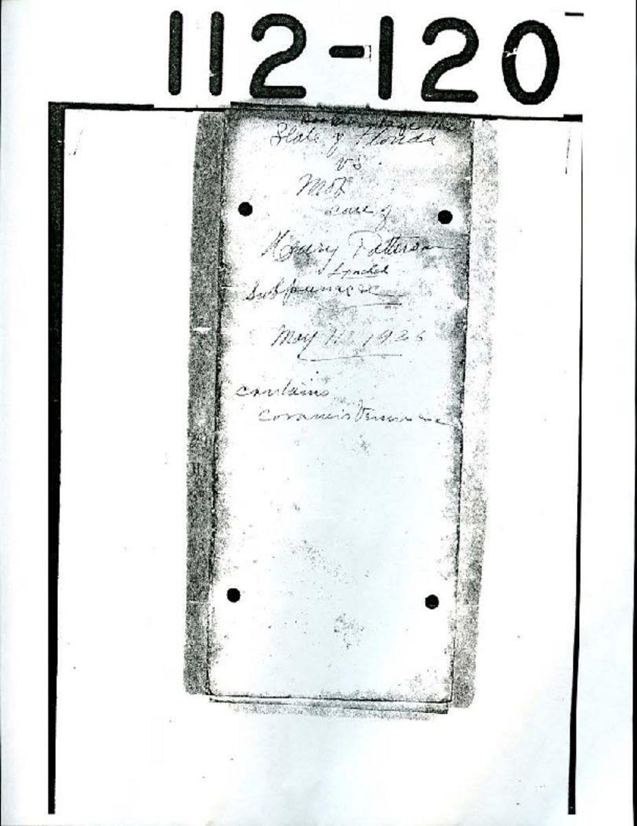 Inquest Files